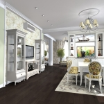 Гостиная мебель светлая