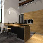 Кухня- столовая 4