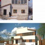 до и после реконструкции