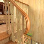 1 фрагмент лестницы