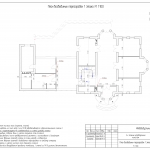 23 План возводимых перегородок 1 этажа (pdf.io)
