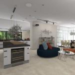 Кухня- столовая 5